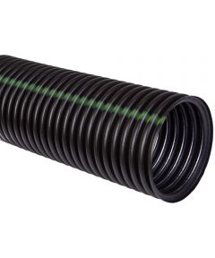 Heavy Duty Solid Single Wall Pipe, 4 in. (Dia) x 10 ft. (L), HDPE