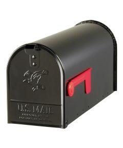 Black Elite Premium Steel Mailbox