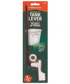 White Sure-Fit Tank Lever