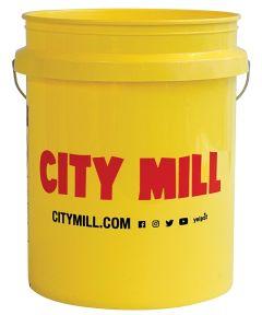 City Mill 5 Gallon Logo Bucket