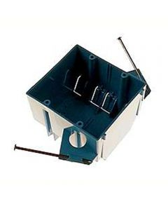 Two Gang Box With Captive