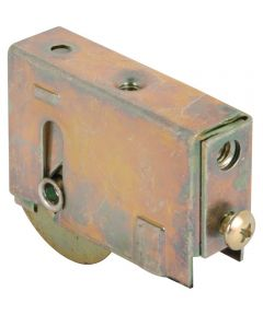 D 1750 Single 1-1/2 in. Steel Roller Assembly, Ball Bering, Plain Back Housing, 1 Pack