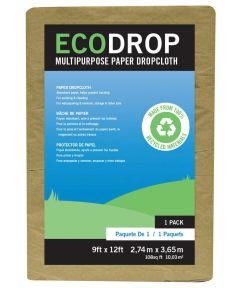 9 ft. x 12 ft. Eco Drop Paper Drop Cloth