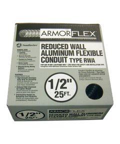 1/2 in. x 25 ft. Armor Flex Reduced Wall Flexible Aluminum Condui