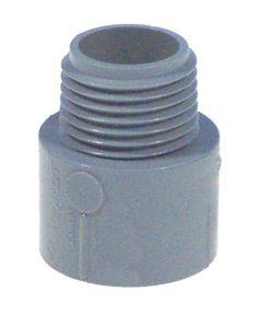 3/4 in. Non Metallic Male Terminal Adapter Slip To Thread