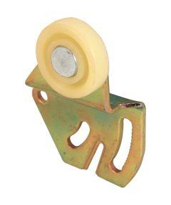 Closet Door Roller, 7/8 inch flat roller, 3/8 inch offset,  Pack of 2