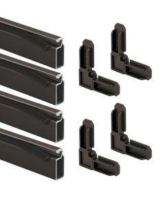 Prime-Line 3/4 inch x 5/16 inch x 48 inches (4 feet) Screen Frame Kit, Bronze 10 per carton