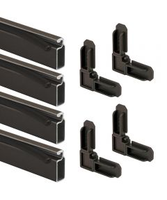 Prime-Line 3/4 inch x 5/16 inch x 60 inches (5 feet) Screen Frame Kit, Bronze 10 per carton