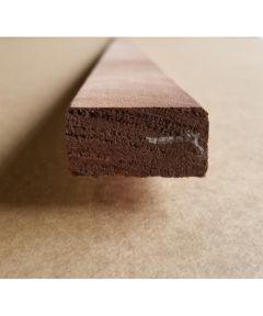 Lumber, Mahogany 1x2x10 KD S4S