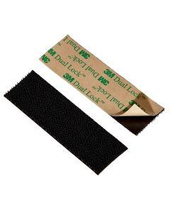 3 in. Black Scotch Outdoor Velcro Fasteners