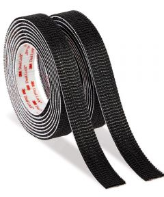 10 ft. x 1 in. Black Scotch Extreme Fasteners