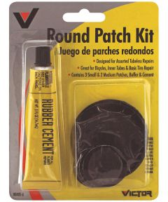 Round Rubber Patch Kit