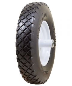 16 in. Knobby Flat Free Wheelbarrow Tire