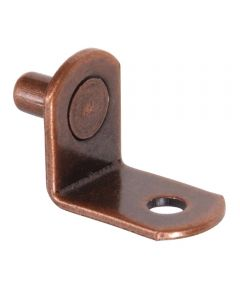 Bronze-Plated Metric Shelf Pins (with Hole)