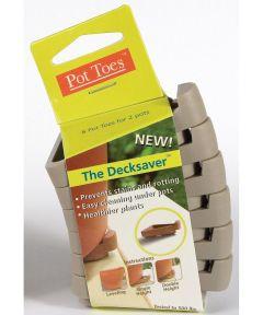 Light Grey Pot Toes 6 Pack