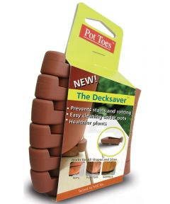 Terra Cotta Pot Toes 6 Pack