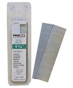 Pro-Fit Collated Nail, 0.0475 in. x 1-1/4 in., Steel