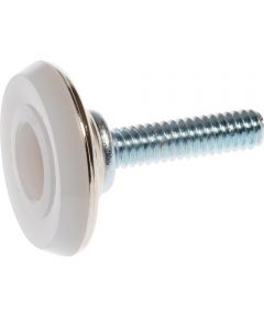 Nickel-Plated Stud Furniture Glide (1/4-20 x 1 in. Size & 1-1/8 in. Non-Swivel Type)