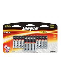 Energizer Max AAA Alkaline Battery, 16 Pack