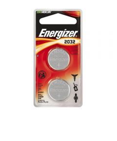 Energizer 2032 3V Lithium Battery, 2 Pack
