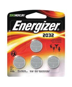 Energizer 2032 3V Lithium Battery, 4 Pack