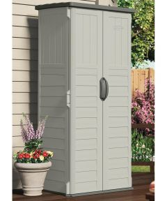 6 ft. Tall Vertical Resin Storage Shed