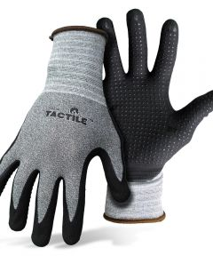 Large Tactile Dotted/Dipped Nitrile Palm & Finger Gloves