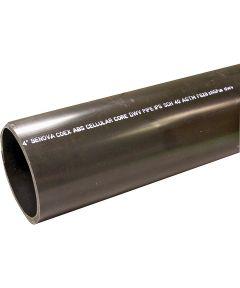 Foam Cellular Core Pipe, 1-1/2 in. x 10 ft., Plain, SCH 40, ABS