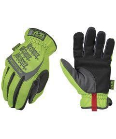 Medium Hi-Viz Yellow Safety Fastfit Gloves