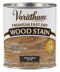 Varathane Fast Dry Wood Stain, Quart, Golden Oak