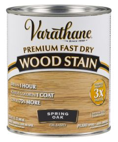Varathane Fast Dry Wood Stain, Quart, Spring Oak