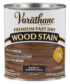 Varathane Fast Dry Wood Stain, Quart, Early American