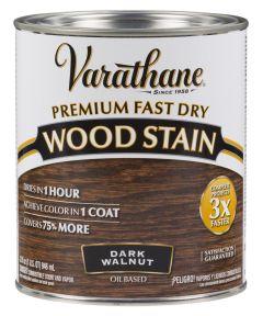Varathane Fast Dry Wood Stain, Quart, Dark Walnut