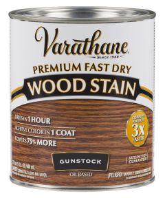 Varathane Fast Dry Wood Stain, Quart, Gunstock
