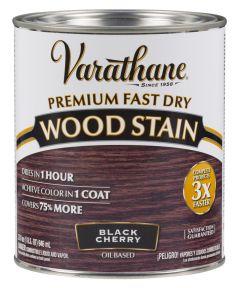 Varathane Fast Dry Wood Stain, Quart, Black Cherry