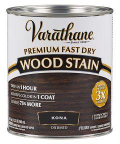 Varathane Fast Dry Wood Stain, Quart, Kona