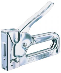 Junior Light Duty Stapler Gun, Steel, Chrome