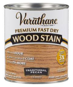 Varathane Fast Dry Wood Stain, Quart, Traditional Pecan