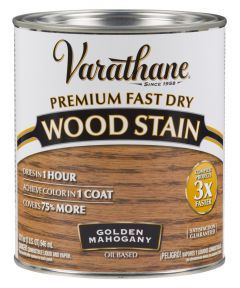 Varathane Fast Dry Wood Stain, Quart, Golden Mahogany