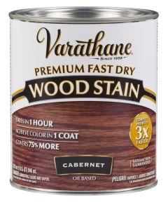 Varathane Fast Dry Wood Stain, Quart, Cabernet
