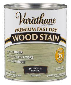 Varathane Fast Dry Wood Stain, Quart, Rustic Sage