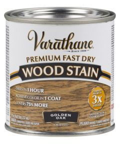 Varathane Fast Dry Wood Stain, Half Pint, Golden Oak