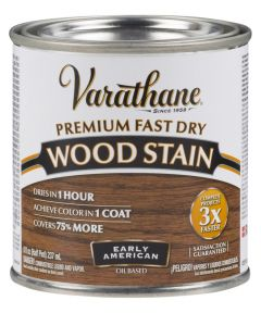 Varathane Fast Dry Wood Stain, Half Pint, Early American