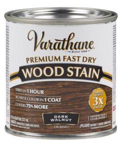 Varathane Fast Dry Wood Stain, Half Pint, Dark Walnut