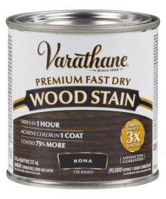 Varathane Fast Dry Wood Stain, Half Pint, Kona