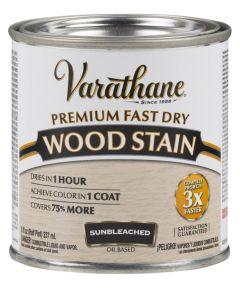 Varathane Fast Dry Wood Stain, Half Pint, Sunbleached