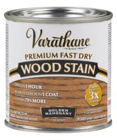 Varathane Fast Dry Wood Stain, Half Pint, Golden Mahogany