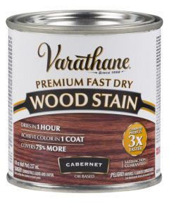 Varathane Fast Dry Wood Stain, Half Pint, Cabernet