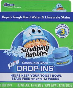 Scrubbing Bubbles Drop-In Toilet Bowl Cleaner, 4.23 oz., Pack
