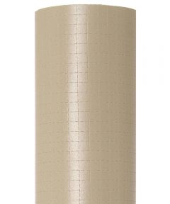 """18"""" x 4' Con-Tact Brand Zip-N-Fit Taupe Shelf Liner"""